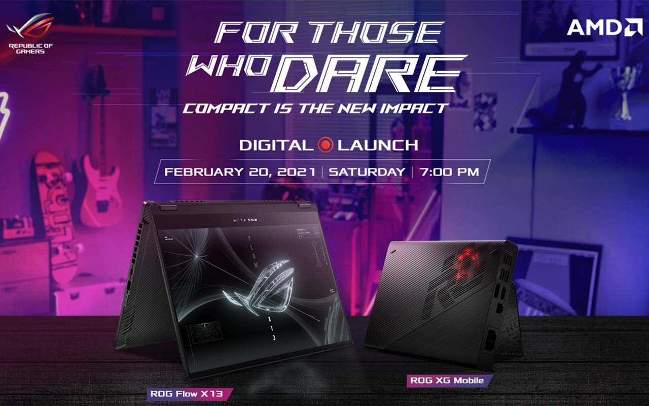 Republic of Gamers PH to launch the ROG Flow X13 on February 20