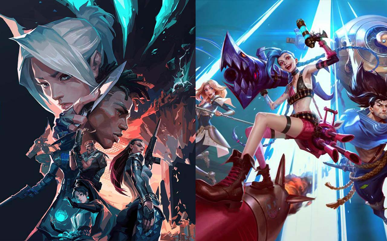 Riot Games Valorant League of Legends Wild Rift esports