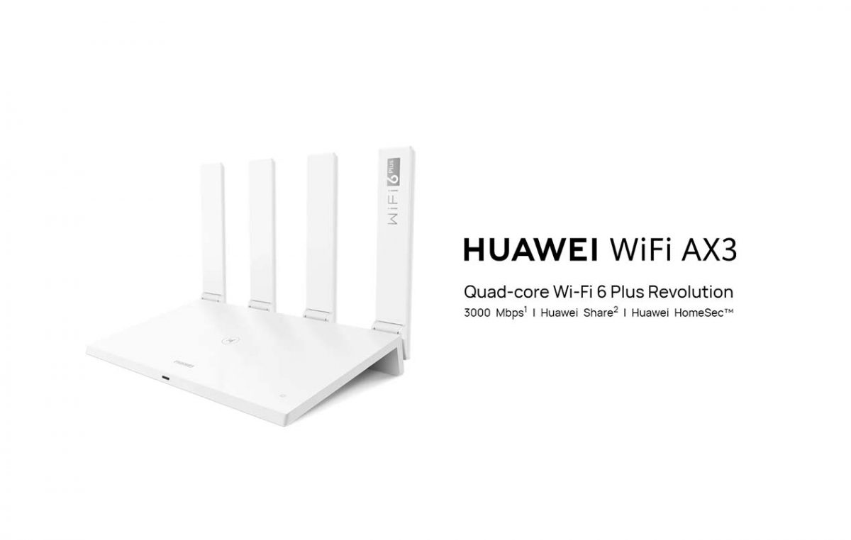 #BetterCoverageBetterPerformance – The Huawei WiFi 6+ AX3 is Here