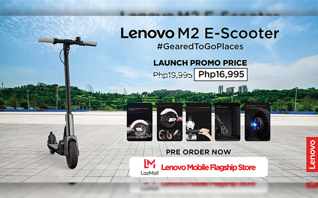 New Lenovo M2 Electric Scooter Launched – Experience Smarter Riding