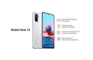 Redmi Note 10 Launched and is Now Available in the Philippines