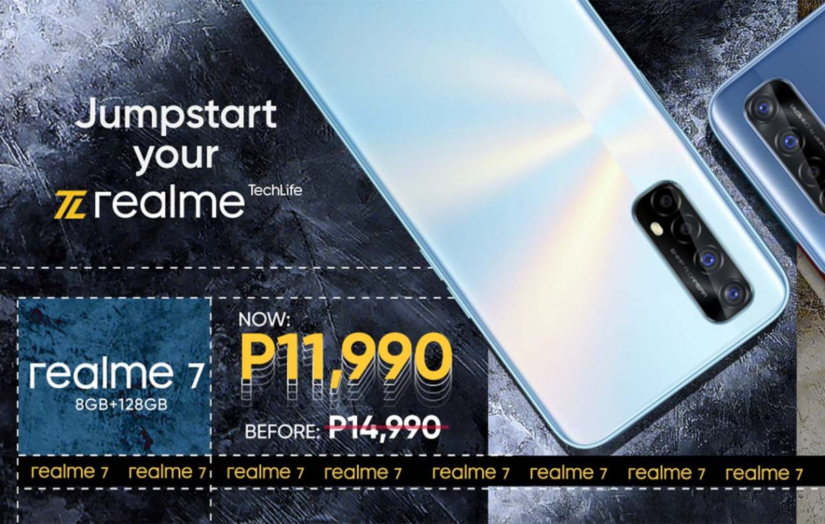The realme 7 gets a Price Cut, Now Available for Only PHP 11,990
