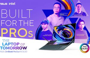 The ASUS ZenBook Pro Duo 15 OLED is Now Available in PH