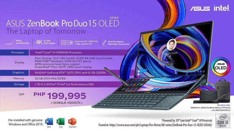ZenBook Pro Duo 15 OLED - i9 variant