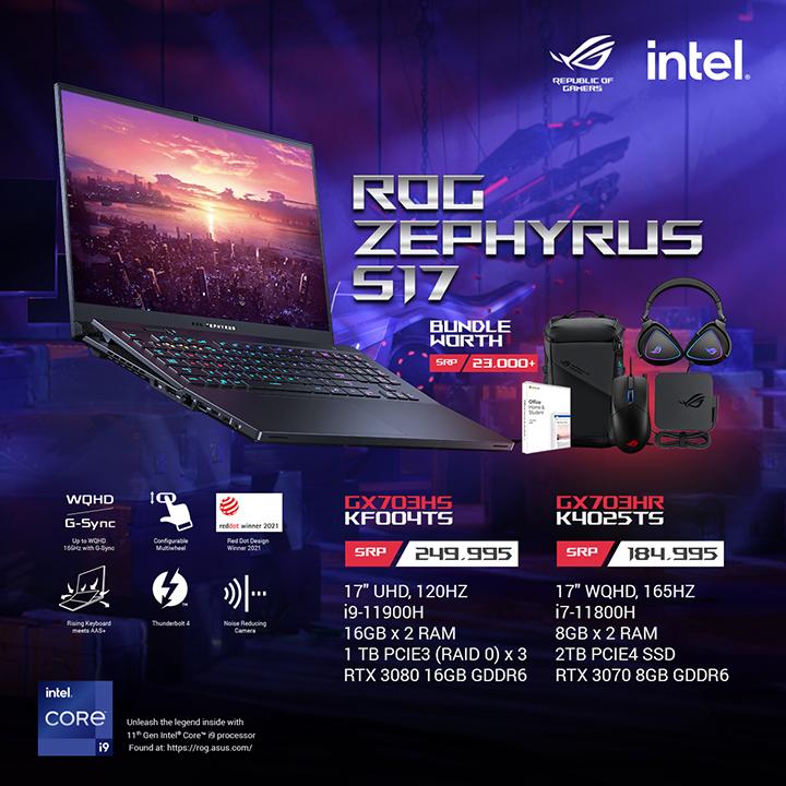 Zephyrus S17 price