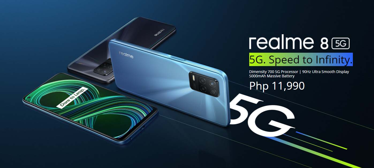 realme 8 5G price