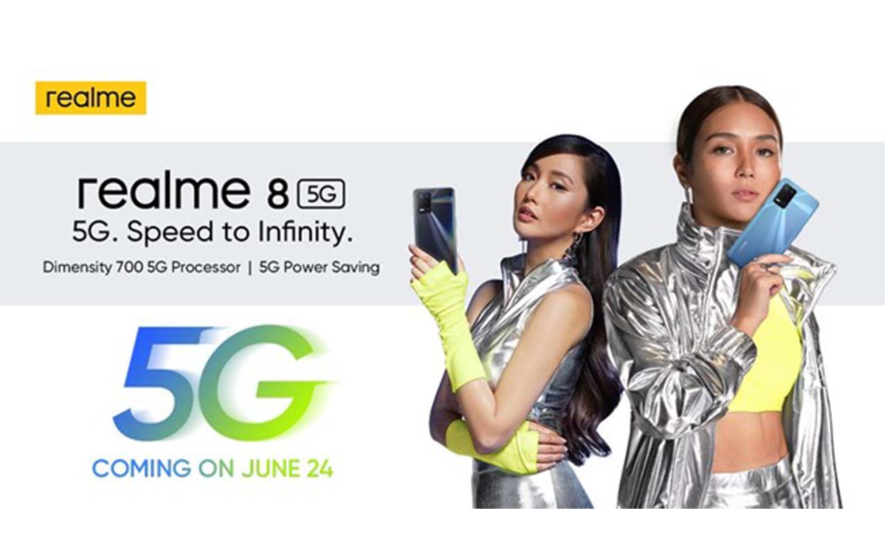 realme 8 5G to be Officially Launch in the Philippines on June 24, 2021