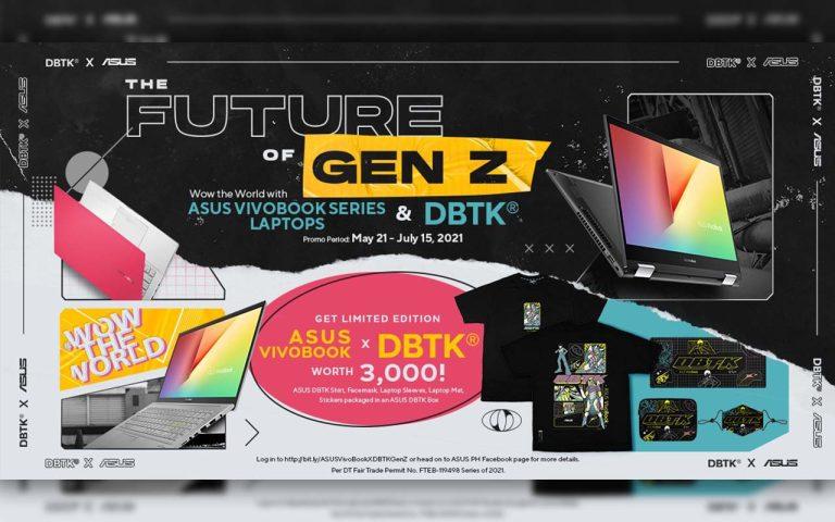 ASUS VivoBook Collaborates with DBTK to Empower Gen Z