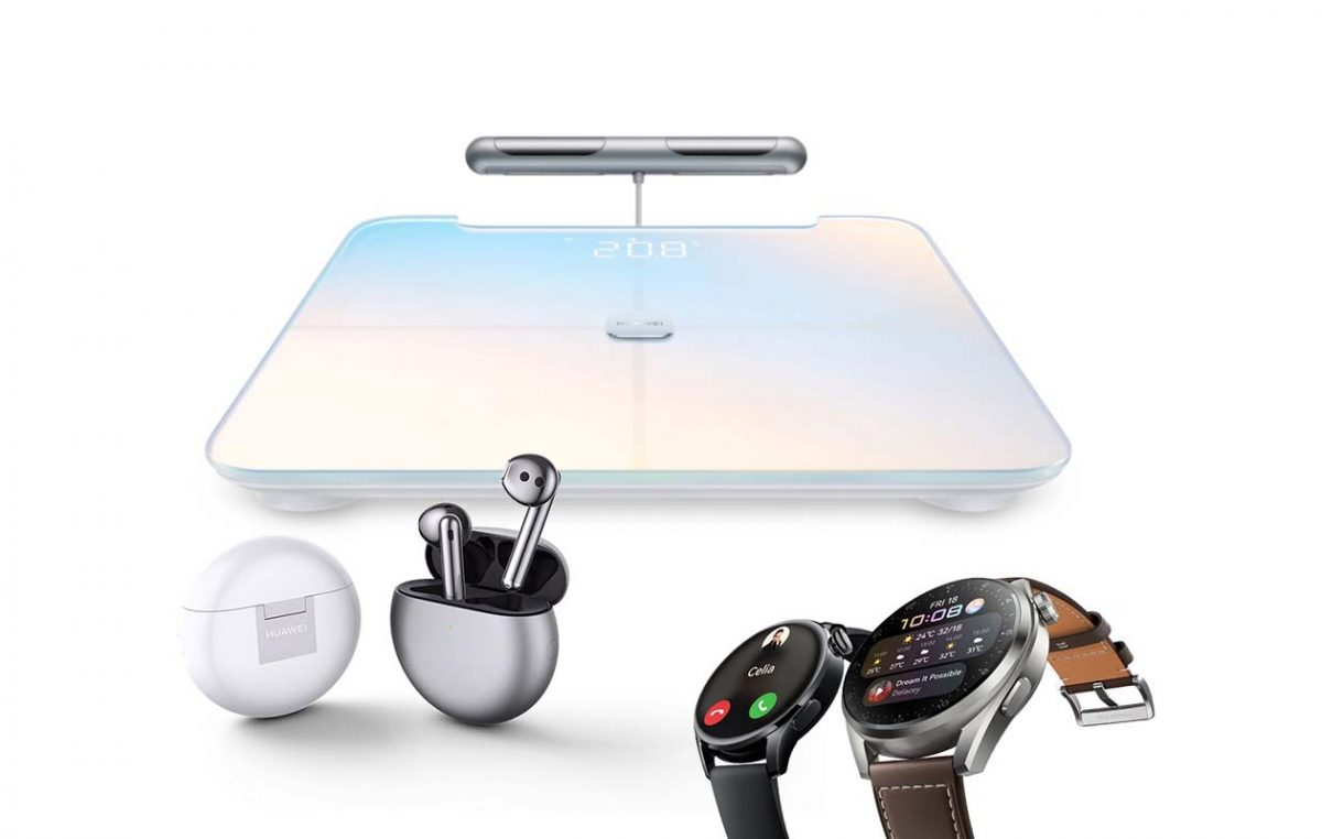 HUAWEI Officially Launches new FreeBuds 4, Watch 3, and Scale 3 Pro