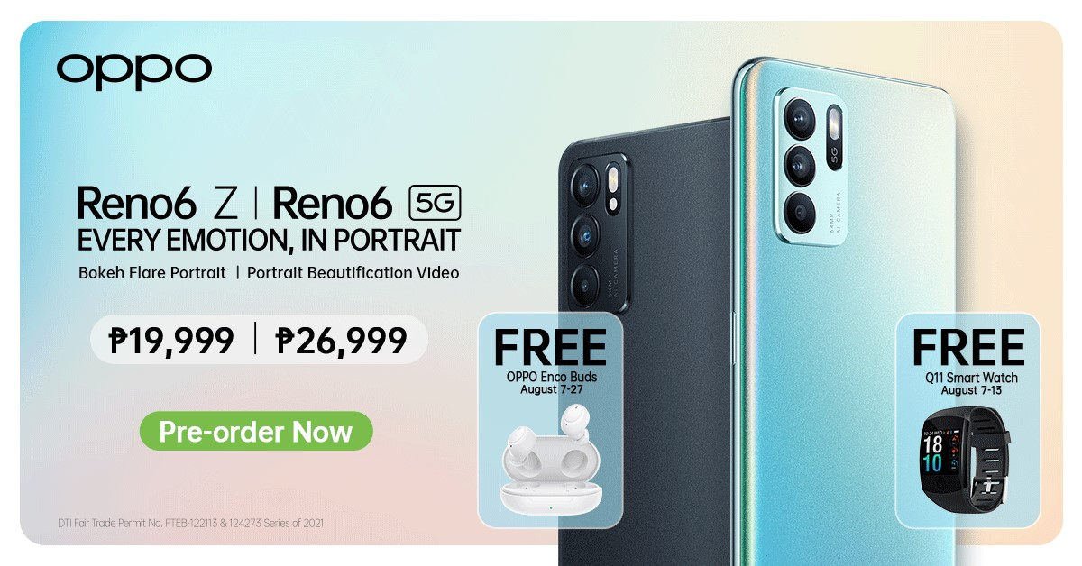 Flaunt Your Every Emotion – OPPO Reno6 Series Launched in PH