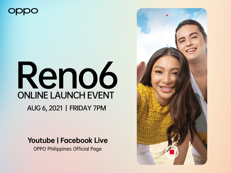 New OPPO Reno6 Series Arriving this August 6, 2021