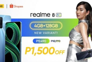 New realme 8 5G 4G+128GB Variant Launched in PH, Priced at ₱10,990