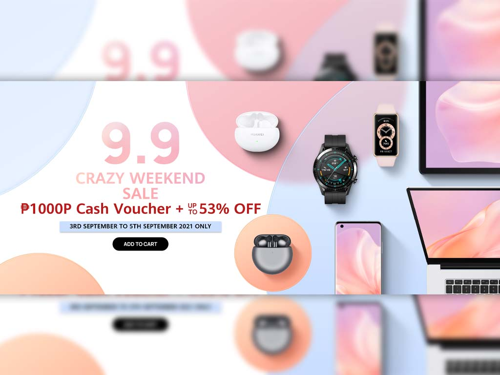 Complete Your Set of Huawei Gadgets this 9.9 Crazy Weekend Sale