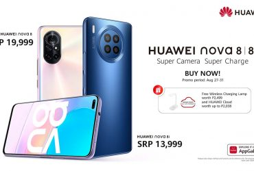 HUAWEI nova 8 and 8i Now Available Here in the Philippines