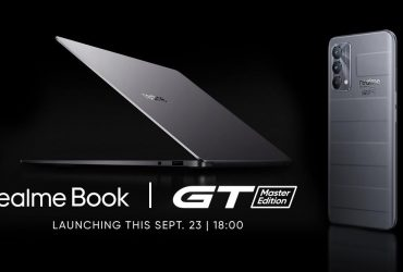 realme GT Master Edition and realme Book to Launch on September 23